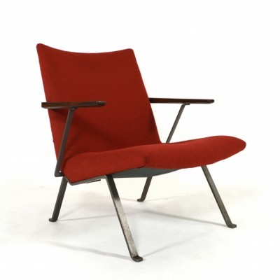 Lounge chair by K. Oberman for Gelderland, 1950s