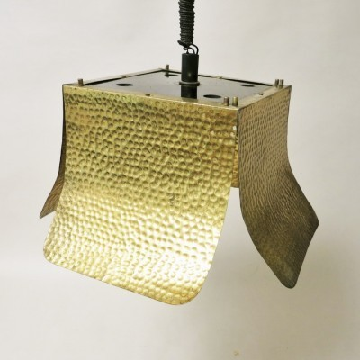 Tommaso Barbi hanging lamp, 1970s