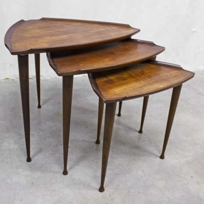 Side table by Poul Jensen for Selig, 1950s