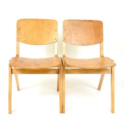 8 x Thonet dining chair, 1960s