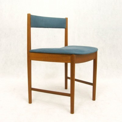 4 dinner chairs from the sixties by unknown designer for Mcintosh Scotland