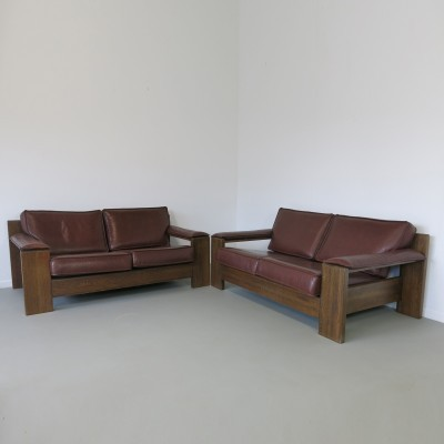 2 No. 757 sofas from the seventies by Harry J M De Groot for Leolux
