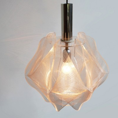Hanging lamp from the sixties by Paul Secon for Sompex