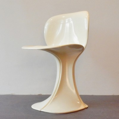 Flower dinner chair from the seventies by Pierre Paulin for BORO Belgium