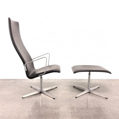 Oxford lounge chair from the nineties by Arne Jacobsen for Fritz Hansen