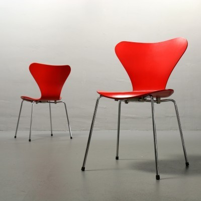 3107 Dinner Chair by Arne Jacobsen for Fritz Hansen