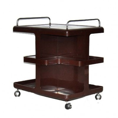 Serving trolley from the sixties by unknown designer for Guzzini