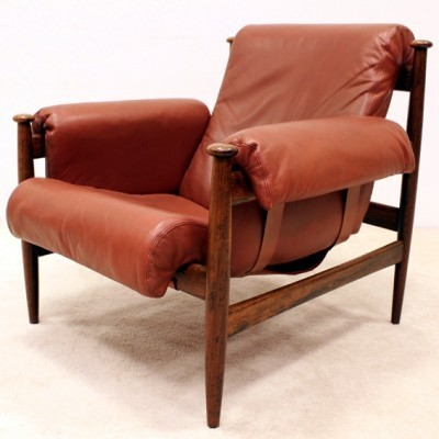 Set of 2 lounge chairs from the sixties by unknown designer for Ire Möbler