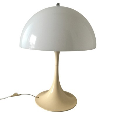 Panthella desk lamp from the sixties by Verner Panton for Louis Poulsen