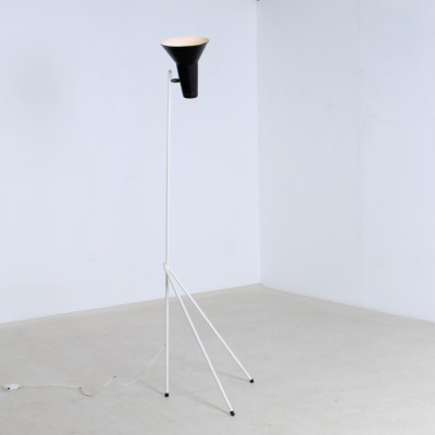 Model 333 floor lamp from the fifties by Willem Hagoort for Hagoort Lighting