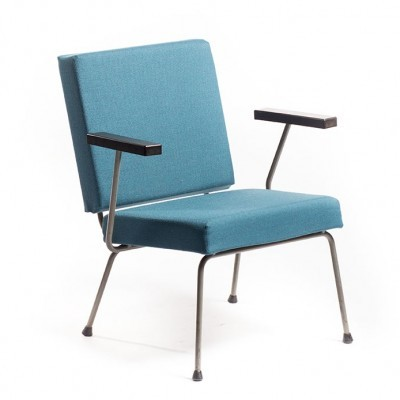 Model 1401 lounge chair by Wim Rietveld for Gispen, 1950s
