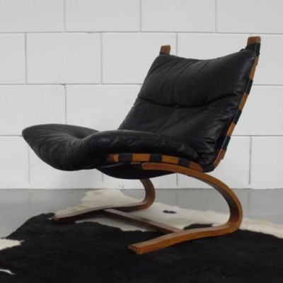 Kangoo lounge chair from the seventies by Elsa Solheim & Nordahl Solheim for Rybo