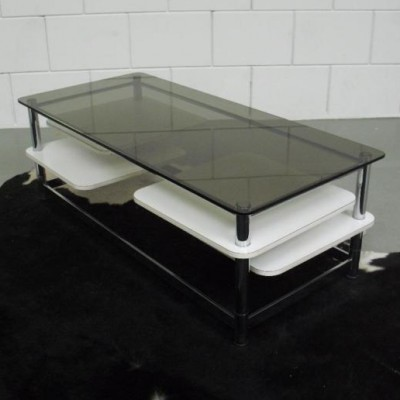 Extendable coffee table from the seventies by unknown designer for unknown producer