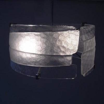 Riflessi hanging lamp by Massimo Rioda for Mazzega