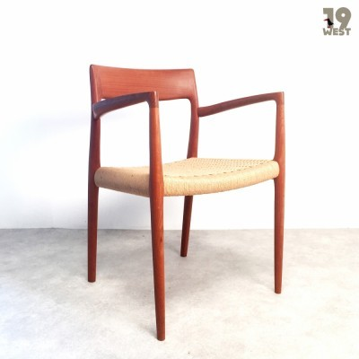 Model 56 dinner chair from the fifties by Niels O. Møller for Moller