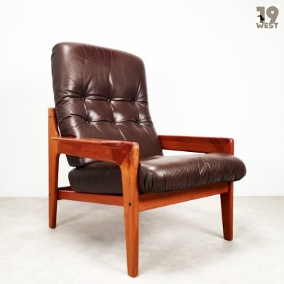 Lounge chair from the sixties by Arne Wahl Iversen for Komfort