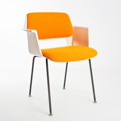 2 x model 2216 dinner chair by André Cordemeyer for Gispen, 1960s