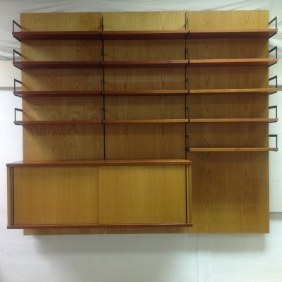 Japan Serie wall unit by Cees Braakman for Pastoe, 1950s