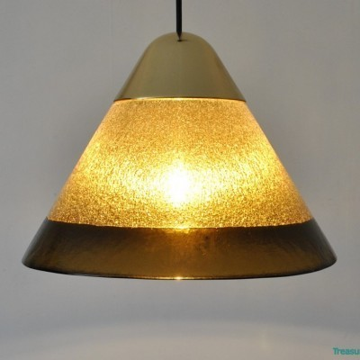 Hanging lamp from the sixties by unknown designer for Peill & Pützler