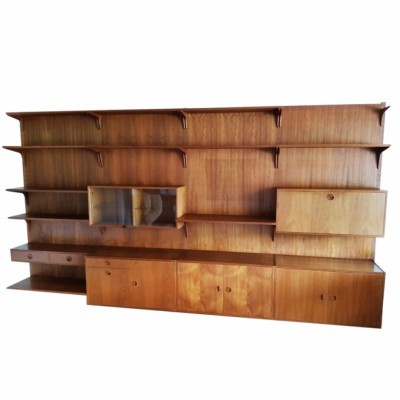 Wall unit from the sixties by unknown designer for HG Furniture