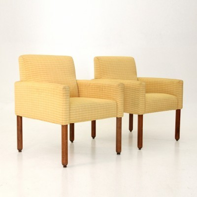 Set of 2 model 896 arm chairs from the sixties by Vico Magistretti for Cassina
