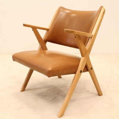 Arm chair from the fifties by unknown designer for Dal Vera
