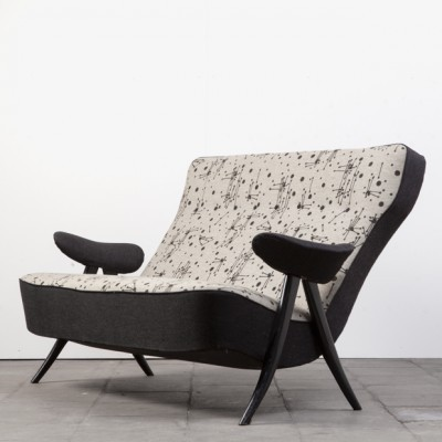 107/2 sofa from the fifties by Theo Ruth for Artifort