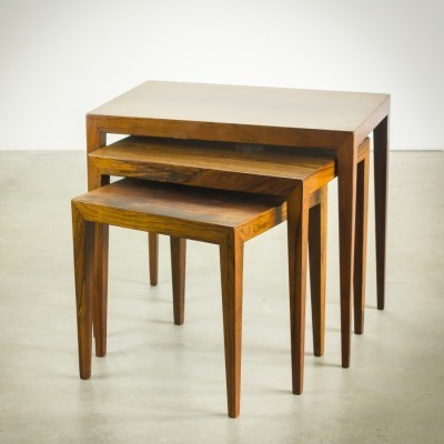 Nesting table from the sixties by Severin Hansen for Bovenkamp