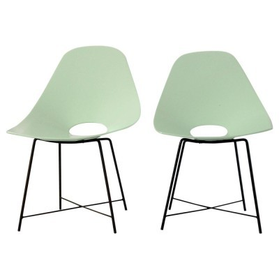 Pair of Augusto Bozzi lounge chairs, 1950s