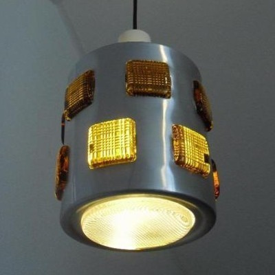 Hanging lamp from the sixties by unknown designer for DRGM