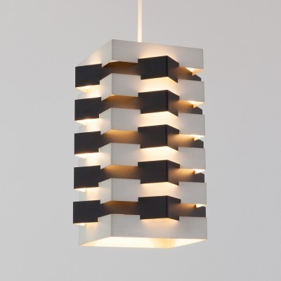 Hanging lamp from the sixties by J. Hoogervorst for Anvia Almelo