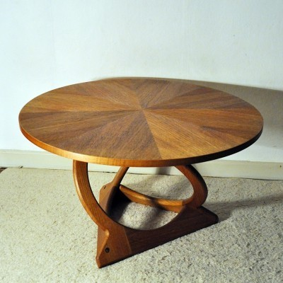 Model 75/80 side table from the sixties by Holger Georg Jensen for Kubus