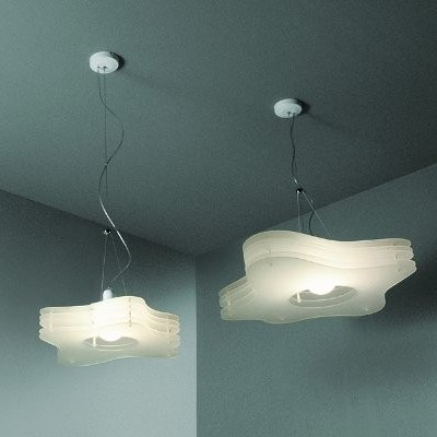 2 x Cloud H1 hanging lamp by Toyo Ito for Rotaliana, 1990s