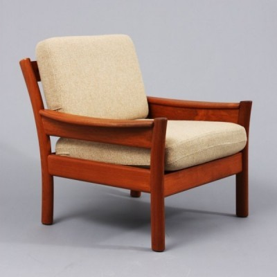 Arm chair from the sixties by unknown designer for Dyrlund