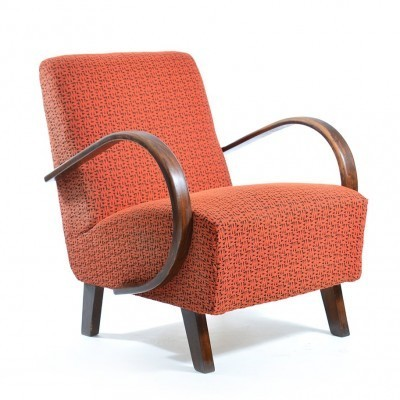 2 x arm chair by Jindřich Halabala for UP Závody, 1950s