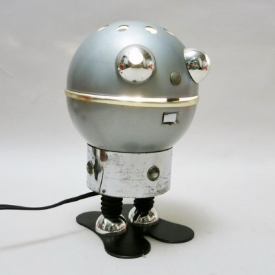 Robot desk lamp by Satco, 1970s