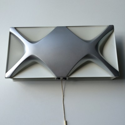 Oyster wall lamp from the sixties by Klaus Link for Heinz Neuhaus Leuchten