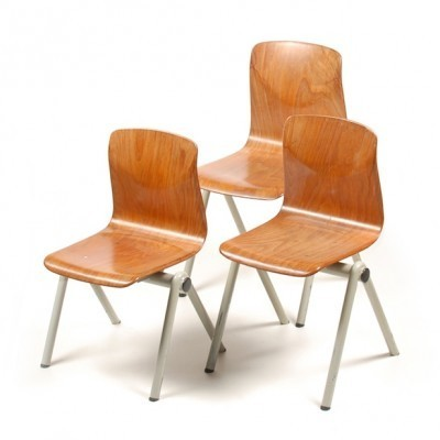 Thur-op-seat Kids Chairs Various Hights children furniture from the fifties by unknown designer for Thur op seat