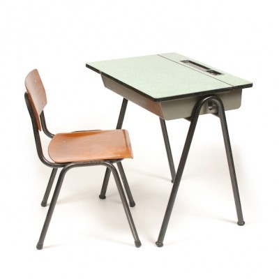 Childrens Desk & Chair children furniture from the fifties by unknown designer for unknown producer