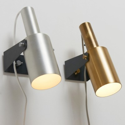 2 Sonet wall lamps from the sixties by Hans Per Jeppesen for Fog & Mørup