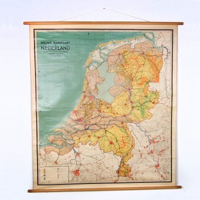 J. B. Wolters Wall Map