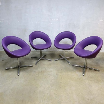 Set of 4 Nina dining chairs by René Holten for Artifort, 1990s