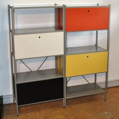 Model 663 cabinet from the fifties by Wim Rietveld for Gispen