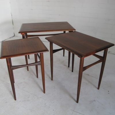 Nesting table from the fifties by Kai Kristiansen for unknown producer