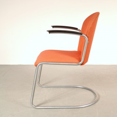 Lounge chair by W. Gispen for Gispen, 1950s