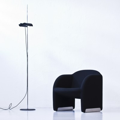 DIM 333 floor lamp from the seventies by Vico Magistretti for Oluce