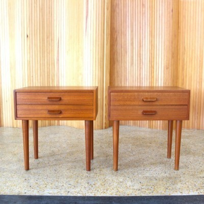 Pair of chest of drawers by Poul Volther for FDB Møbler, 1950s