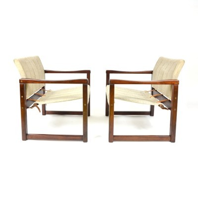 4 arm chairs from the eighties by unknown designer for unknown producer