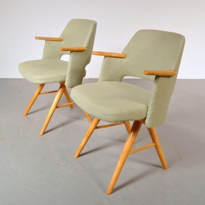 2 lounge chairs from the fifties by Cees Braakman for Pastoe