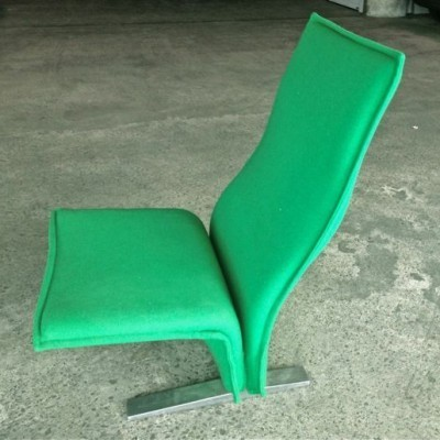 Concorde lounge chair from the sixties by Pierre Paulin for Artifort